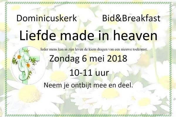 Bid en Breakfast mei 2018