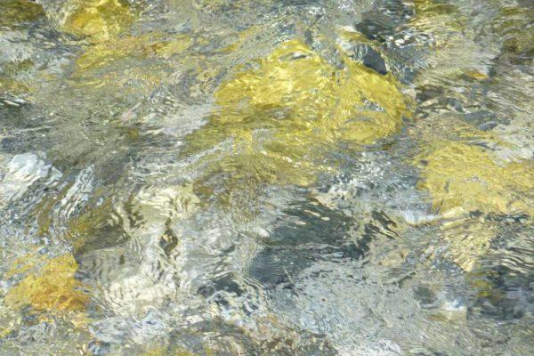 """Schilderij """"Levend water"""" - bron onbekend"""